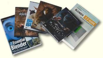 Blender Books & DVD's
