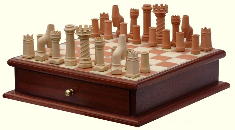 Chimney Poat Chess Set