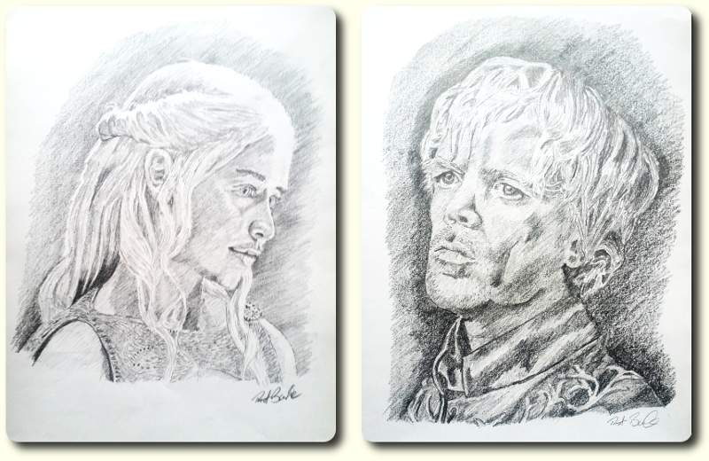 Daenerys Tygarian and Tyrion Lanister