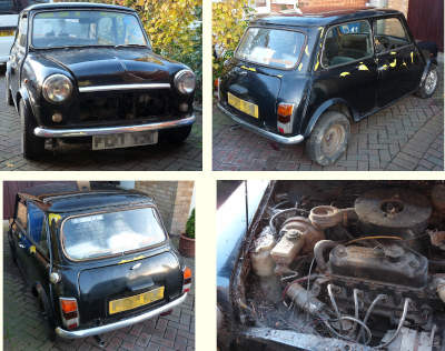 Austin Mini Rebuild Project